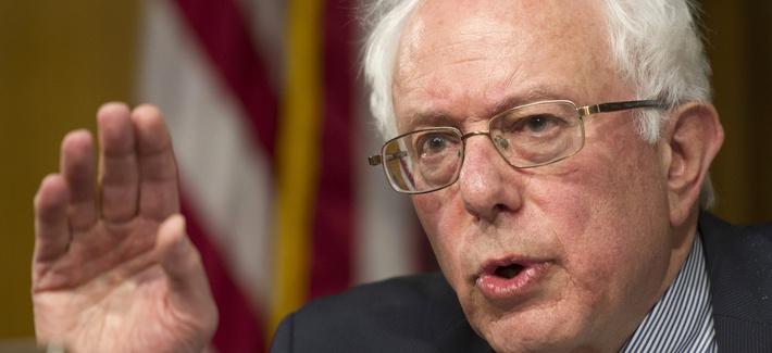 Senate Veterans Affairs Committee Chairman Sen. Bernie Sanders, I-Vt., May 15, 2014.