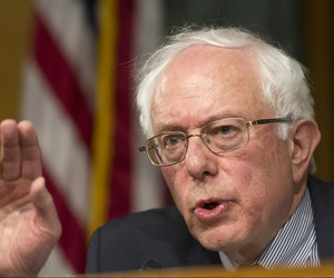 Senate Veterans Affairs Committee Chairman Sen. Bernie Sanders, I-Vt., May 15, 2014.