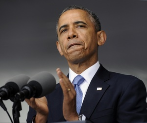 President Barack Obama delivered a major foreign policy speech at the U.S. Military Academy at West Point on Wednesday.