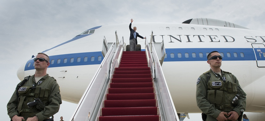 Defense Sec. Chuck Hagel departed May 28 for a 12-day world tour of U.S. security interests hours after Obama's West Point speech.