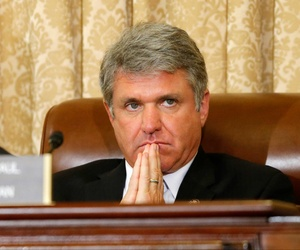Rep. Michael McCaul, R-Texas., listens during a House Homeland Security Committee meeting, on June 24, 2014.