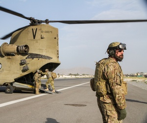 Troops First brought five wounded warriors to RC-East as part of Operation Proper Exit at Bagram Air Field.