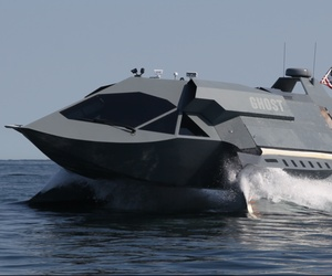 One of Juliet Marine System's GHOST boats in action.