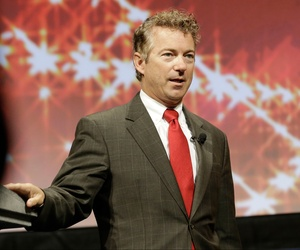 Kentucky Sen. Rand Paul speaks at the Americans for Prosperity gathering on Aug. 29, 2014, in Dallas.