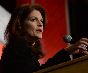 Former DOD Deputy Chief Management Officer Beth McGrath speaks at the 2013 Excellence in Government conference.