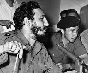 Fidel Castro and his brother Raul in an undated photo.
