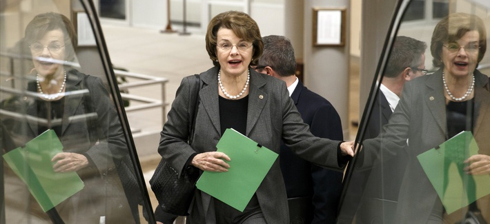 Sen. Dianne Feinstein, D-Calif., former chair of the Senate Intelligence Committee.
