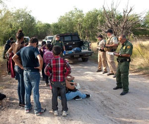 U.S. Customs and Border Protection provide assistance to unaccompanied alien children after they have crossed Texas' southern border and into the United States.
