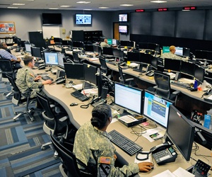 Seen here is the Cyber Operations Center on Fort Gordon, Ga.