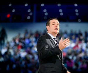 Sen. Ted Cruz, R-Texas speaks at Liberty University, March 23, 2015 in Lynchburg, Va., to announce his campaign for president.