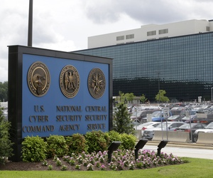Seen here is the National Security Agency campus in Fort Meade, Md.