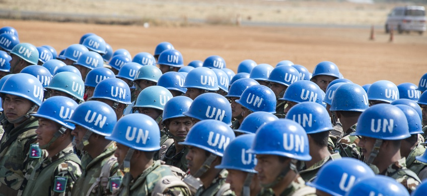 Over two hundred Nepalese peacekeepers arrive in Juba from the UN Stabilization Mission in Haiti to reinforce the military component of the UN Mission in South Sudan.