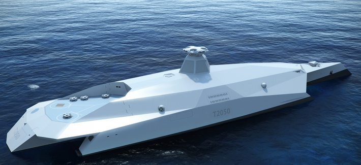 Conceptual rendering of the Startpoint T2050, aft view.