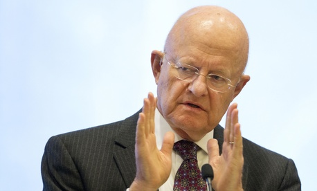 James Clapper, the Director of National Intelligence, speaks at the International Conference on Cyber Security at Fordham University, Wednesday, Jan. 7, 2015, in New York.
