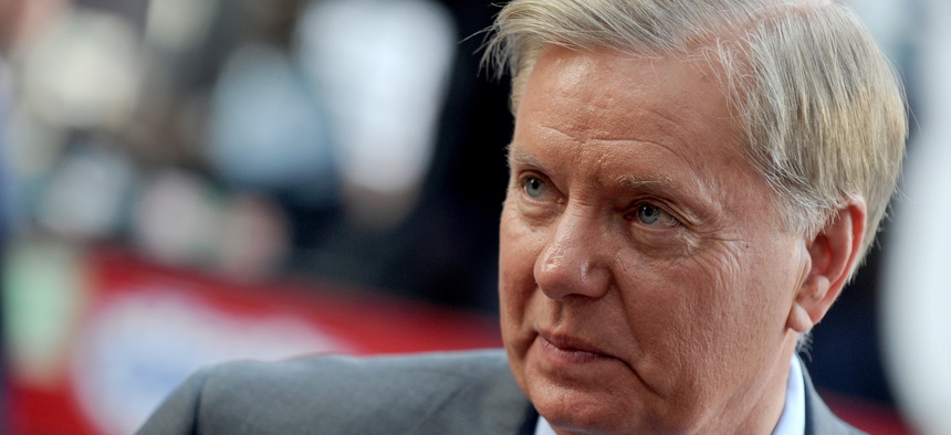 Sen. Lindsey Graham, R-S.C., backs President Obama's effort to close Guantanamo and move its prisoners to the U.S. — just not to the brig in his state.