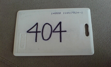 An HID security keycard.