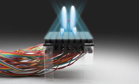 Holograms are tridimensional light-fields that can be projected from a two-dimensional surface. The researchers have created acoustic holograms with shapes such as tweezers, twisters and cages that exert forces on particles to levitate and manipulate them