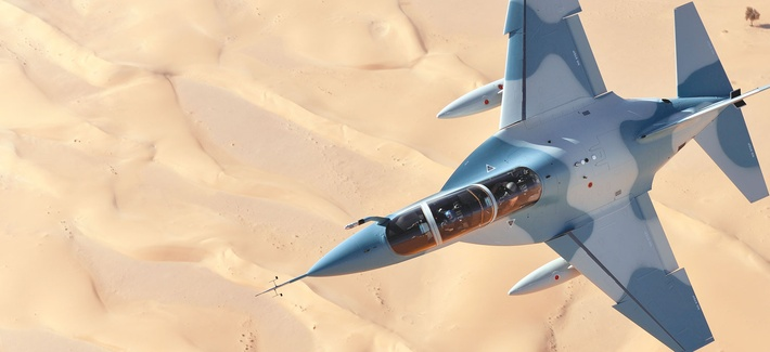 Alenia, an Italian firm, plans to market its M-346 jet trainer to the U.S. Air Force.