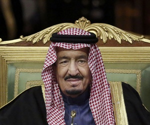 In this Wednesday, Dec. 9, 2015 file photo, King Salman of Saudi Arabia opens the 36th session of the Gulf Cooperation Council Summit in Riyadh.