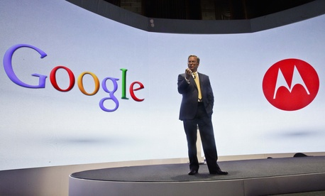 ric Schmidt, Google's chairman, speaks during a press conference on Wednesday, Sept. 5, 2012 in New York.