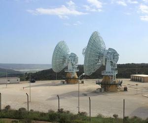 MUOS antennae in Niscemi.
