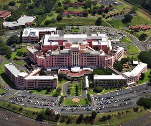 Tripler Army Medical Center is the headquarters of the Pacific Regional Medical Command of the armed forces in the state of Hawaii, March 30, 2014.