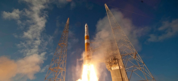 A Delta IV GPS IIF-3 is launched from Cape Canaveral Air Force Station, Fla., Oct. 4, 2012.