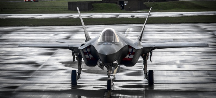 At Farnborough, Brexit Fears Dampen F-35's UK Debut