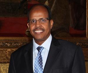 Foreign Minister of Djibouti Mahamoud Ali Youssouf