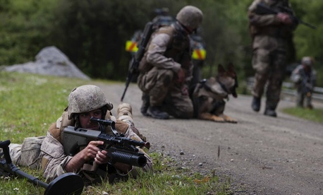 About 60 U.S. soldiers from the 25th Infantry Division at Schofield Barracks and 40 Marines from I Marine Expeditionary Force trained alongside about 600 New Zealand Defense Force soldiers during Exercise Kiwi Koru in 2014.