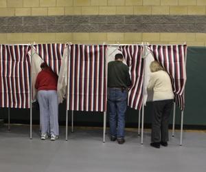 Americans vote.