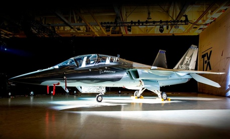 Boeing partnered with Swedish company Saab to design their candidate for the Air Force's next advanced trainer aircraft.