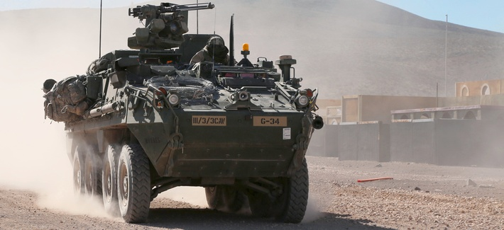 The General Dynamics Land Systems Stryker