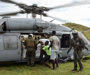 """Engagement"" can take many forms, including operations like Joint Task Force Matthew, which provided disaster relief and humanitarian aid to Haiti following Hurricane Matthew."