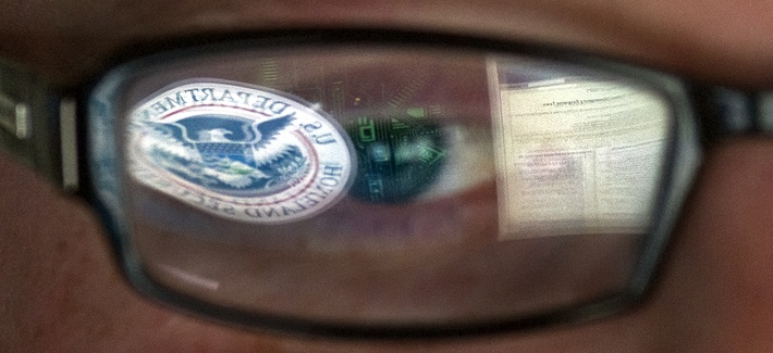 A cybersecurity analyst at the watch and warning center of the Department of Homeland Security's secretive cyber defense facility in Idaho Falls, Idaho, Sept. 30, 2011.