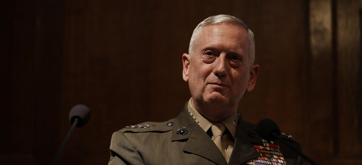 Now retired Gen. James Mattis served as the commander of U.S. Central Command for approximately three years in President Barack Obama's administration.