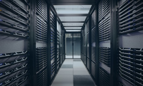 IBM servers newly added to a metal cloud environment, Sept. 18, 2015.