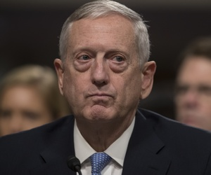 Defense Secretary-designate James Mattis testifies at his confirmation hearing before the Senate Armed Services Committee.