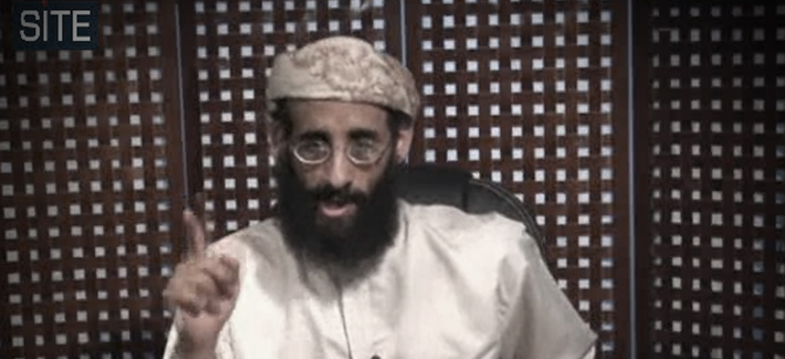 Anwar al-Awlaki speaks in a video message posted on radical websites in late November 2010.
