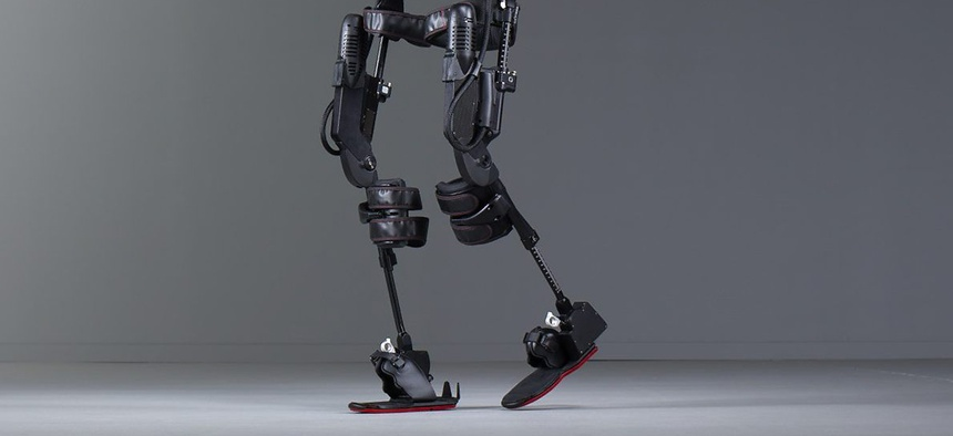 EksoGT is one of the first FDA-cleared exoskeletons for stroke and spinal cord injury rehabilitation.