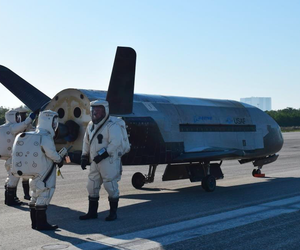 The U.S. Air Force released a flurry of photos and videos — but not information — about the X-37B at its latest landing in Florida.