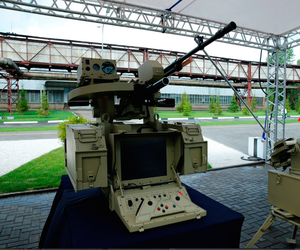 "A photo a neural-network run ""combat module"" from the Russian Kalashnikov Group."