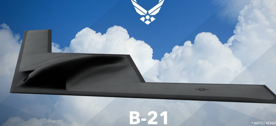 U.S. Air Force artist rendering of B-21 Raider