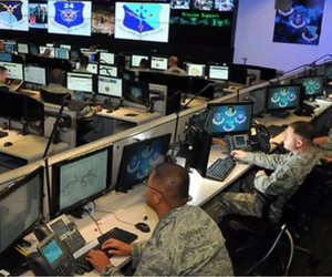 Cyber Airmen from the 24th Air Force at Joint Base San Antonio-Lackland, Texas. // U.S. Air Force