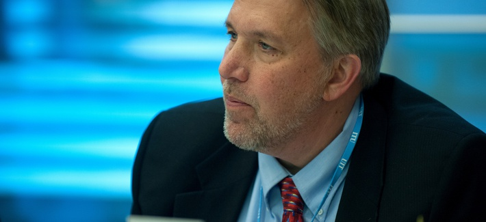 Christopher Painter, U.S. State Department Coordinator for Cyber Issues, in 2013.