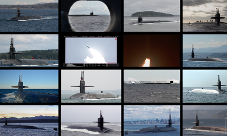 Some of U.S. Navy's 14 Ohio-class nuclear-armed ballistic missile submarines are scheduled for retirement between 2027 and 2040.