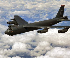 A 2014 photo of a B-52H Stratofortress based at Barksdale Air Force Base, La.