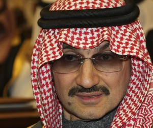 A 2010 photo of Saudi billionaire Prince Alwaleed bin Talal al-Saud, one of Prince Alwaleed bin Talal, the billionaire investor, who is one of at least 11 prominent figures arrested and being detained in luxury hotels across Riyadh.