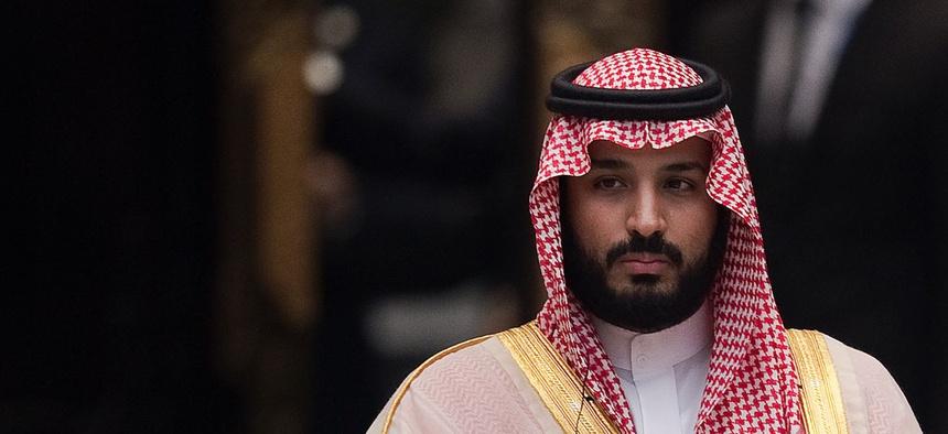 Mohammad bin Salman bin Abdulaziz Al Saud, also called MBS, the Crown Prince of Saudi Arabia.