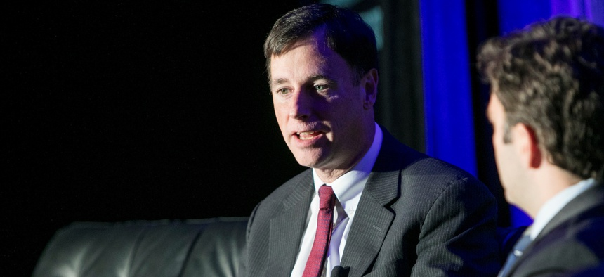 White House Cybersecurity Coordinator Rob Joyce speaks Nov. 9 at the Defense One Summit in Washington, D.C.